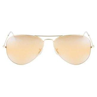 0202f76e7 Óculos de Sol Ray-Ban Aviator 58 RB3025 Esp Dr/Vd 112-19