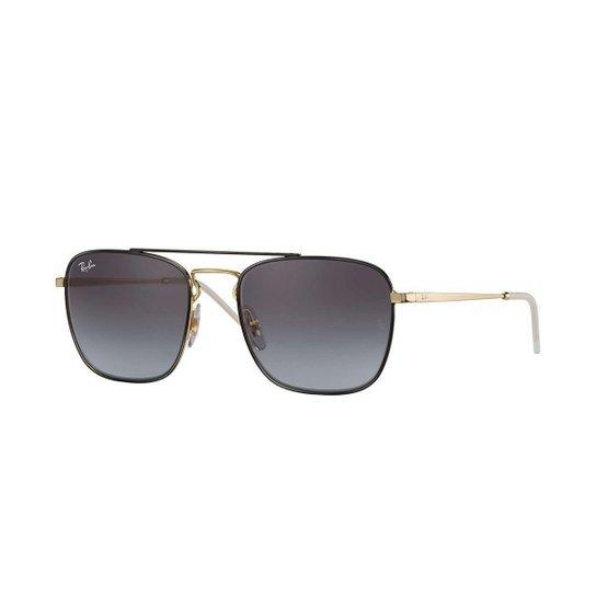 80eab10b6 Óculos de Sol Ray-Ban RB3588 Gradiente - Dourado | Netshoes