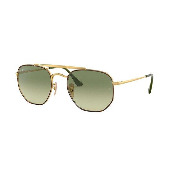 040d72e7e Óculos de Sol Ray-Ban Rb3648 Masculino - Dourado   Netshoes