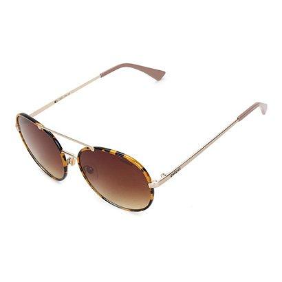 Óculos De Sol Colcci C0023 Demi Amarelo Brilho E Dourado Fosco/ L Mar Feminino