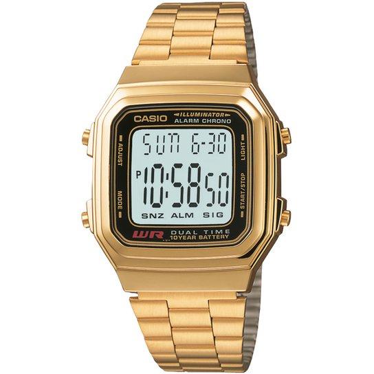 b5a06df7c5a Relógio Casio Vintage A178WGA-1A - Compre Agora