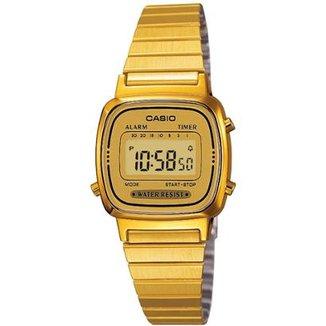 e994dfee9e3 Relógio Casio Vintage LA670W Feminino