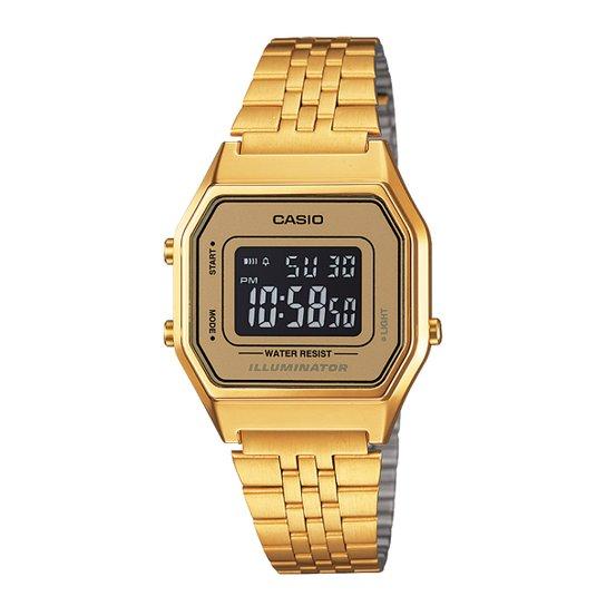 c5507240799 Relógio Casio Vintage - Dourado - Compre Agora