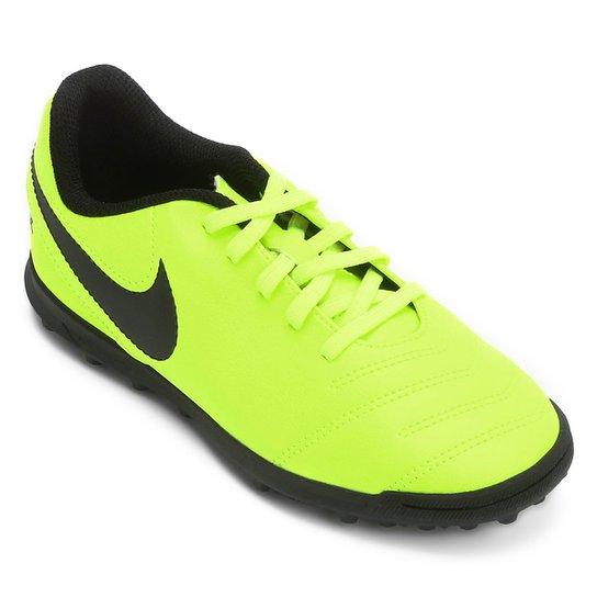 52b69cc902 Chuteira Society Infantil Nike Tiempo Rio 3 TF - Compre Agora