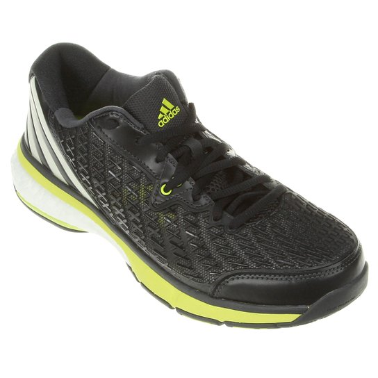 d43946cd5 Tênis Adidas Energy Boost Volley - Preto+Verde Limão