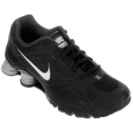 5a2209cee22910 ... Tênis Nike Shox Turbo 14 - Preto+Branco .