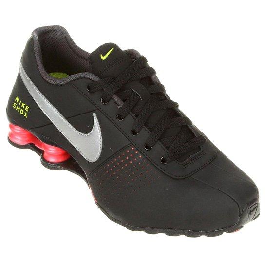 new arrival cf449 d7de8 Tênis Nike Shox Deliver - Preto+Cinza