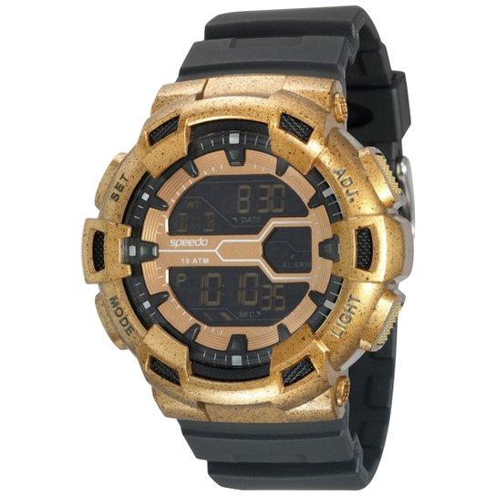 b7fd1b4293d720 Relógio Speedo Sport Life Style - Preto e Cobre | Netshoes