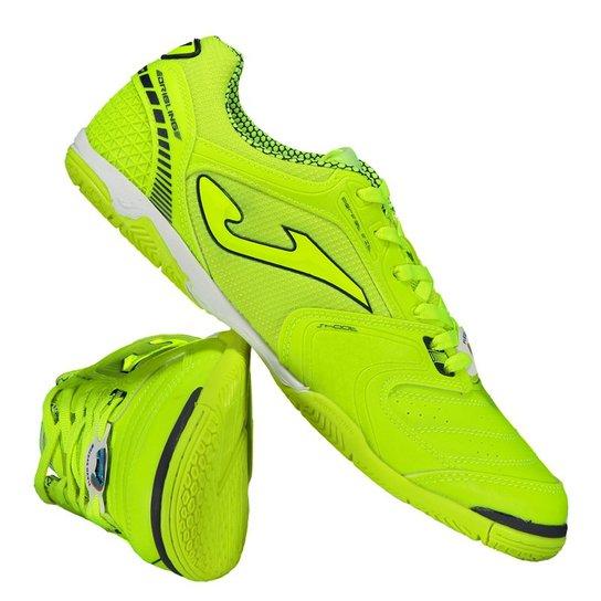 7e62d939f1 Chuteira Joma Dribling Futsal Masculina - Verde Claro+Preto