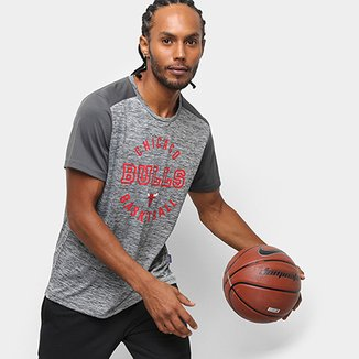 822fb36d4cf Camiseta NBA Chicago Bulls Fio Tinto Mesh 17 Masculina