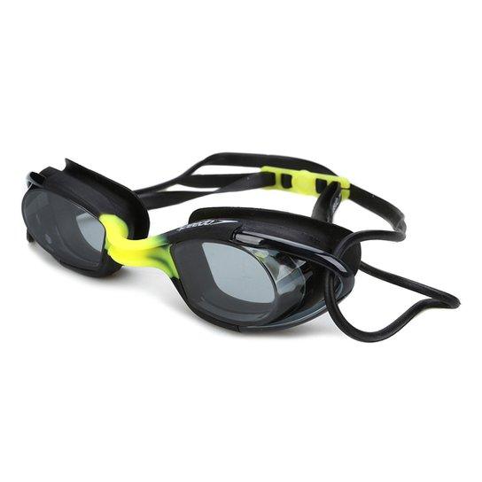 Óculos Speedo Mariner - Preto e Amarelo - Compre Agora   Netshoes 6cbca77ef3
