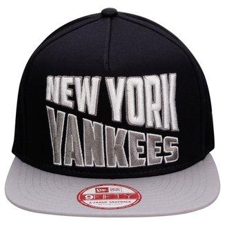 Boné New Era 950 MLB Word Split New York Yankees d4189b58b4d