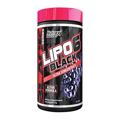 Lipo 6 Black Powder Ultra Concentrate 120g Exclusivo - Nutrex