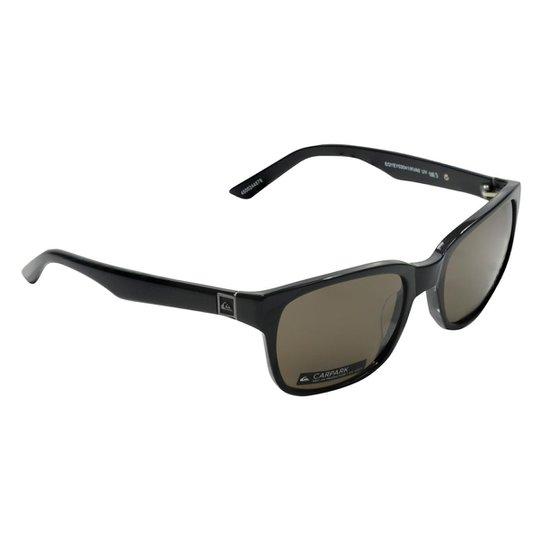 Óculos Quiksilver Carpark - Preto e Cinza - Compre Agora   Netshoes 61be20c2bf