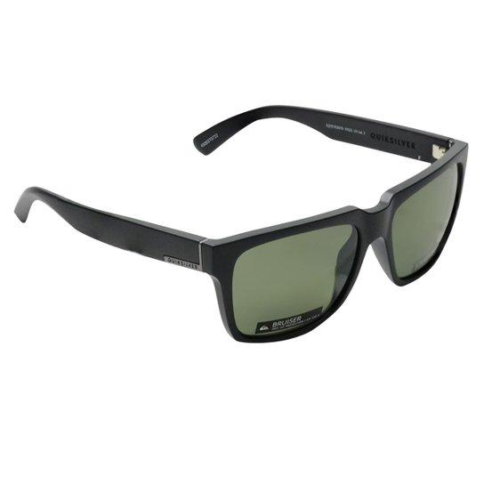 96dfc263b91b5 Óculos Quiksilver Bruiser Polarizado - Preto e Cinza - Compre Agora ...