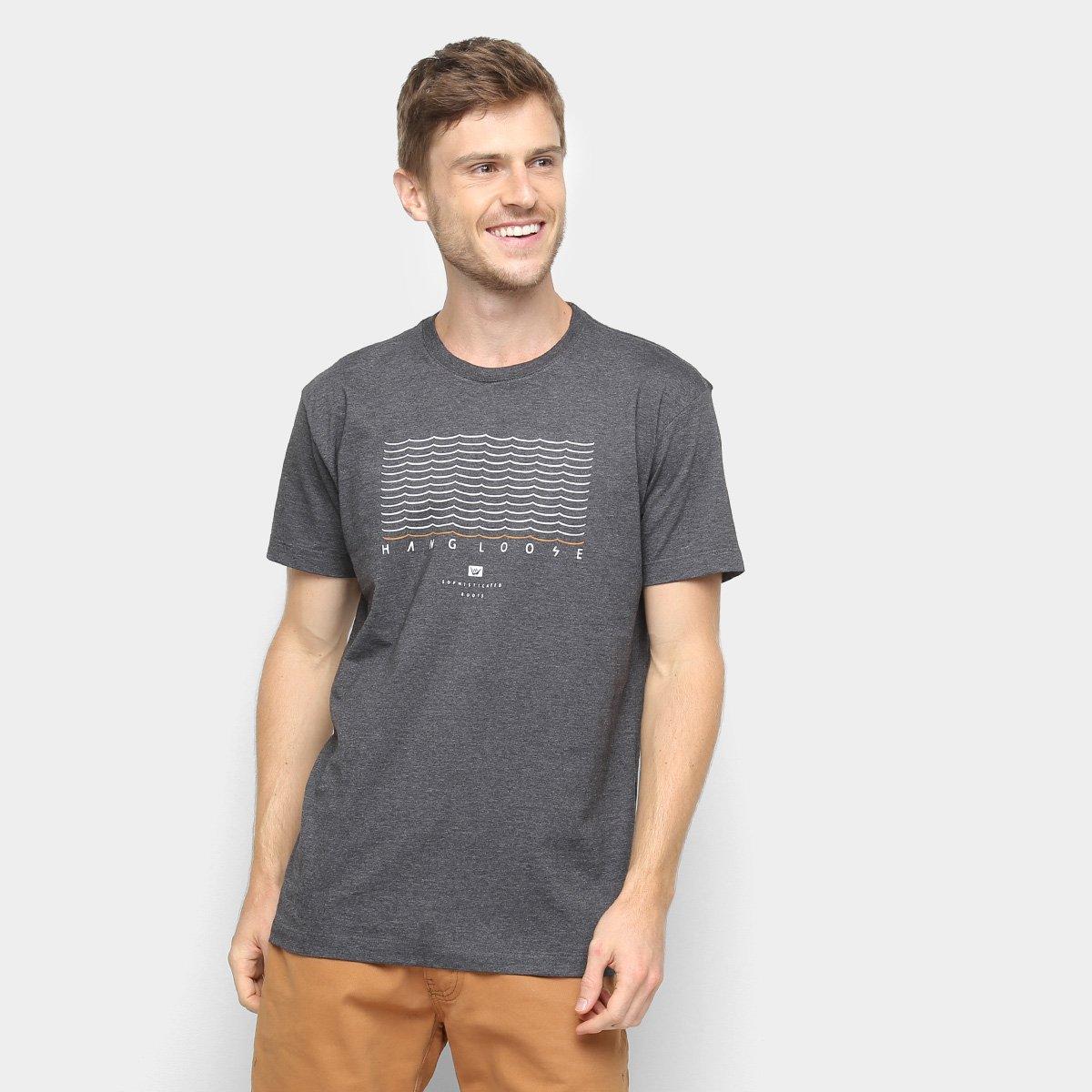 48b80a930e Camiseta Hang Loose Silk Wavy Masculina