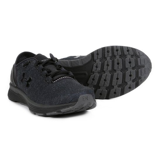 c473f0bf66 Tênis Under Armour Charged Bandit 3 Masculino - Preto e Cinza ...