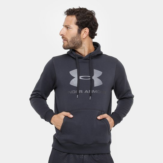 c131f68d468 Moletom Under Armour Rival Fitted Graphic Masculino - Compre Agora ...