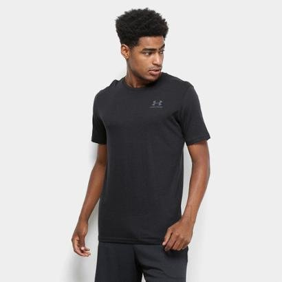 Camiseta Under Armour Sportstyle Left Chest Ss Masculina