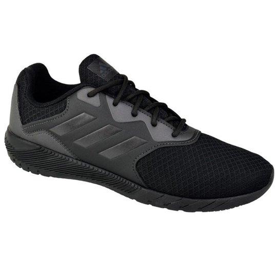 34d9b3511ef Tênis Infantil Adidas Quickrun 2 K - Preto - Compre Agora