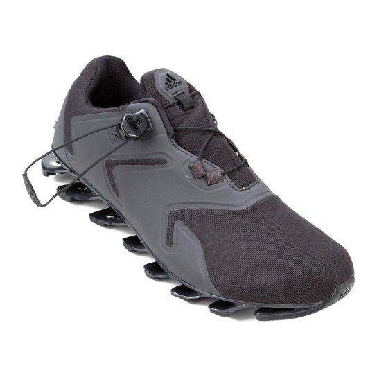 promo code e2fae ae150 Tênis Adidas Springblade Solyce Masculino - Preto+Cinza