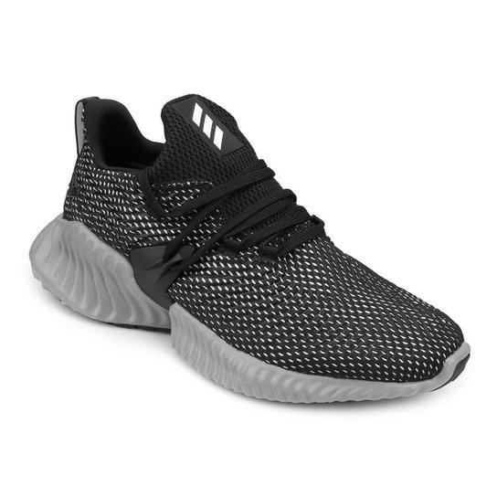 70162d883a Tênis Adidas Alphabounce Instinct Masculino - Preto e Cinza - Compre ...