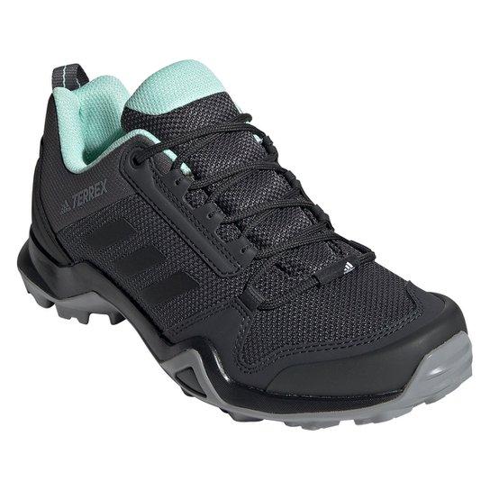 cf76d846aad Tênis Adidas Terrex Ax3 Feminino - Preto e Cinza - Compre Agora ...