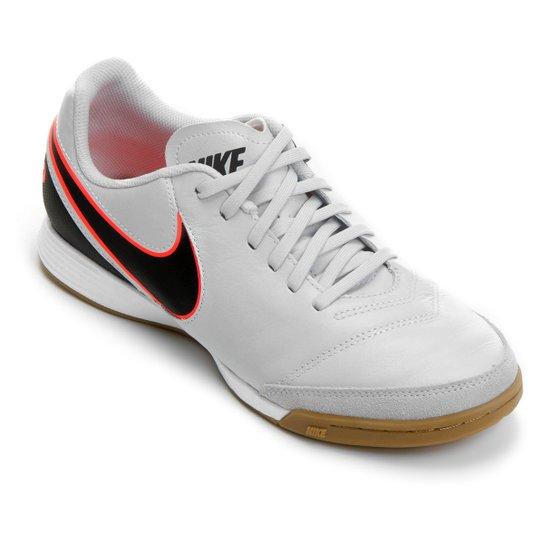3ccff87c94b6b Chuteira Futsal Nike Tiempo Genio 2 Leather IC Masculina | Netshoes