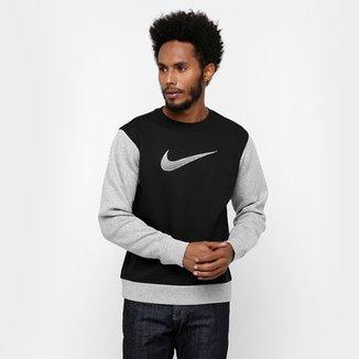 Moletom Nike Club Flc Crew 26ca9ce0f189e