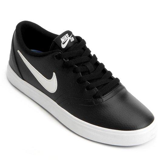 sports shoes 69fb2 98779 Tênis Nike Sb Check Solar Masculino - Preto+Cinza