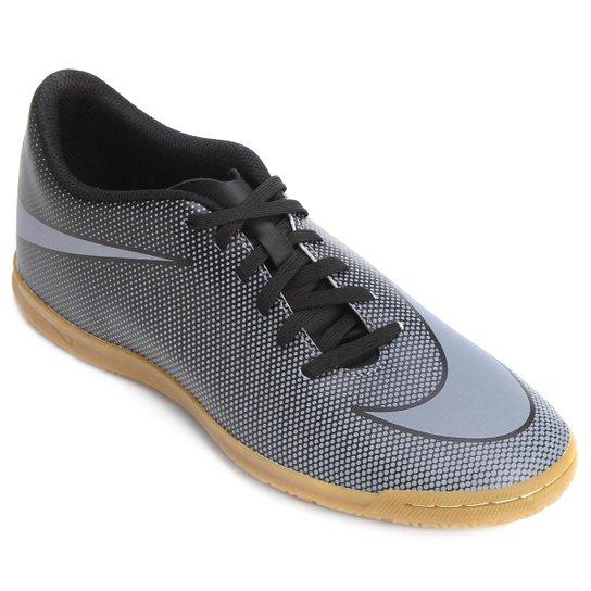 60047f180cf973  Chuteira Futsal Nike Bravata 2 IC Masculina - Preto e Cinza  - Compre . 11f3e1507cce7