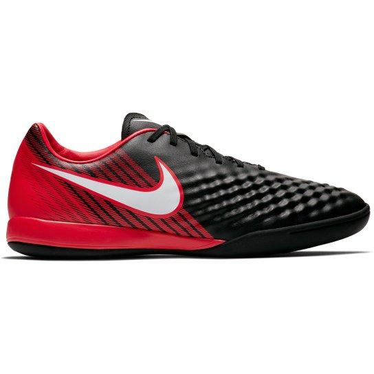 ceecca42fef5c Chuteira Futsal Nike Magista Onda II IC - Preto e Cinza - Compre ...