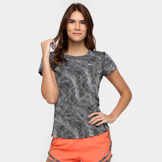 Camiseta Nike Dri-Fit Miler SS Feminina - Compre Agora  e9724cc92f0ce