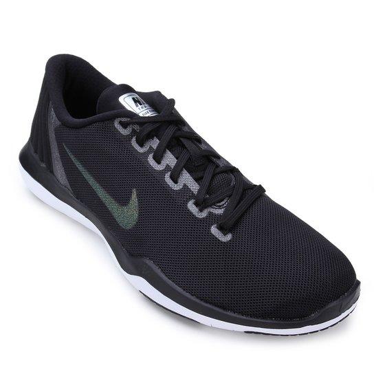 Tênis Nike Flex Supreme Tr 5 Mtlc Feminino - Preto e Cinza - Compre ... 0a468701eb855