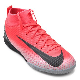 Chuteira Futsal Infantil Nike Superfly 6 Academy GS CR7 IC ea7c9f07ba611