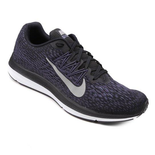 bf3ca527c Tênis Nike Zoom Winflo 5 Masculino - Preto e Cinza - Compre Agora ...