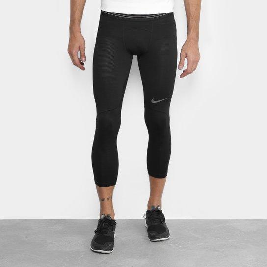 Calça Nike Pro Hypercool Tight Masculino - Compre Agora  1a3ab15d45534