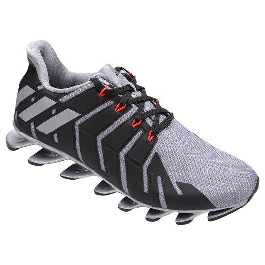 d77202e668 Tênis Adidas Springblade Pro Masculino - Preto e Cinza - Compre ...