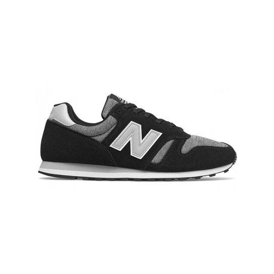 4499f78767b Tênis New Balance 373 Casual Masculino - Preto e Cinza - Compre ...