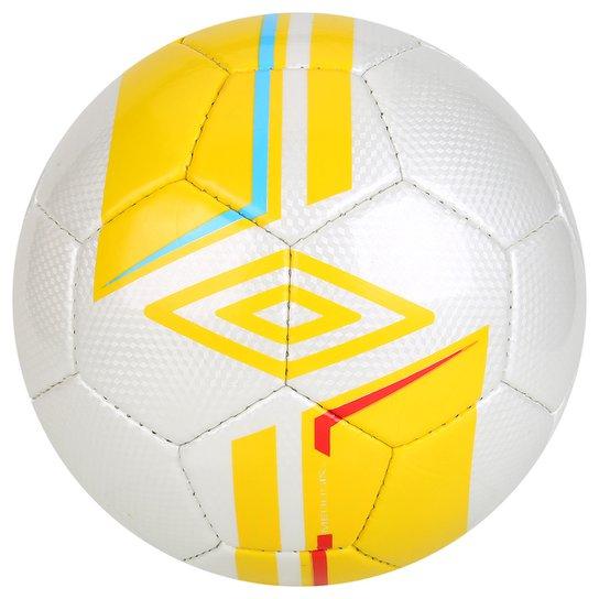Bola Futebol Umbro Medusae Society - Branco+Amarelo 6bc10f6b15c6f