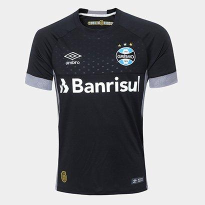 Camisa de Goleiro Grêmio 18/19 Umbro Masculina