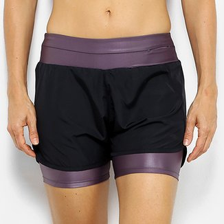 Short Fila Belt Feminino