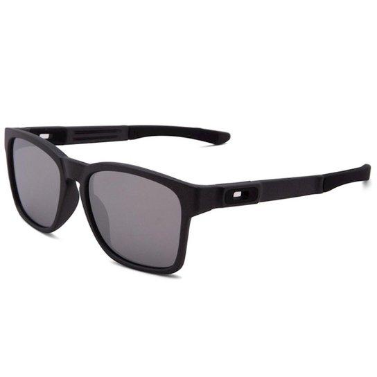 226cffee6a13f Óculos Oakley Catalyst-Iridium - Preto e Cinza - Compre Agora