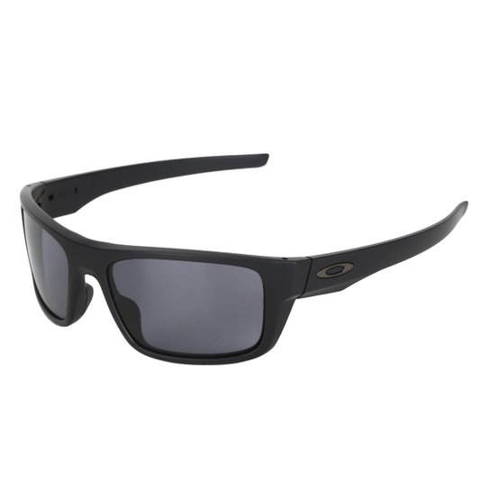 Óculos de Sol Oakley Drop Point Masculino - Preto e Cinza - Compre ... 8f99caa84a