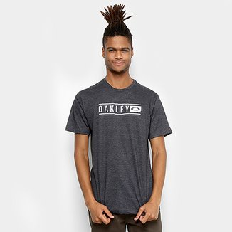 f4508f424a Camiseta Oakley Scout Lettering Masculina