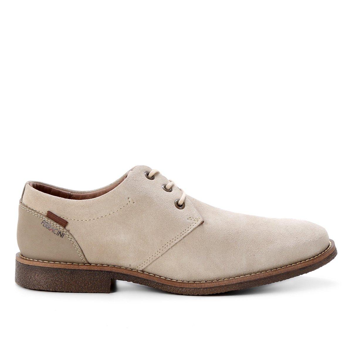 Sapato Couro Ferracini Bangkok Rustic Masculino