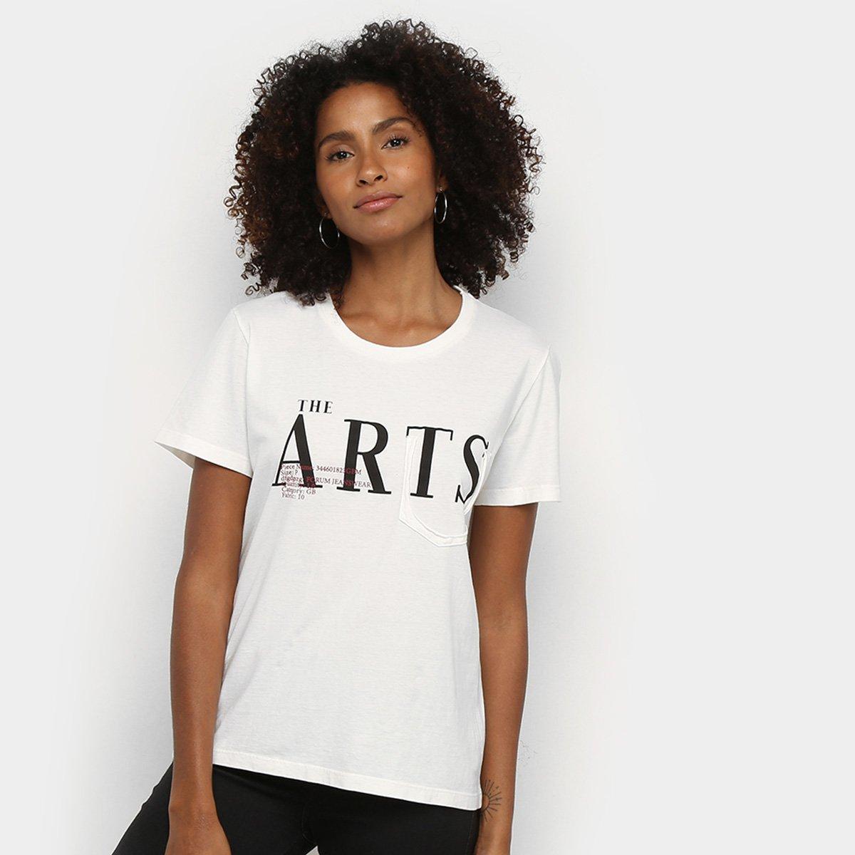 Camiseta Forum The Arts Feminina