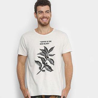 fa7d0515c03 Camiseta Foxton Coffee Is The New Black Masculina