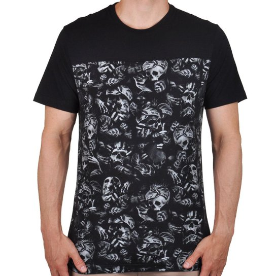 Camiseta MCD Especial Nightmare Masculina - Preto e Cinza - Compre ... 63f61a969ad