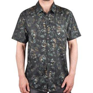 Camisa MCD Manga Curta Estampada Masculina 0780a6e1acb